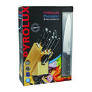 Pyrolux 9pc Precision Knife Block