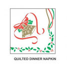 Christmas Quilted Dinner Napkins 100 Per Pack 100