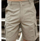 Cotton Drill Utility Shorts Navy