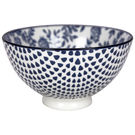 Gusta Out of the Blue Flowers Round bowl 135mm