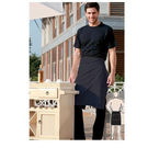 Pv Half Apron Without Pocket Black