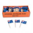 Toothpick Flag Australia 500 Pack Assorted