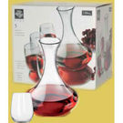 Vina Stemless Wine And Carafe Set 5pc