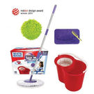 White Magic Hand Press Spin Mop