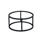 Zicco Form Round Metal Stand Black 285 x 160mm