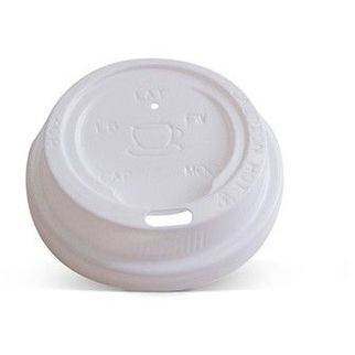 Picture of 4oz Plastic Hot & Cold Lid White