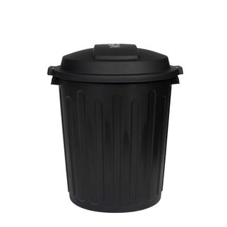 Picture of Willow Dome Bin 75litre with lid Black