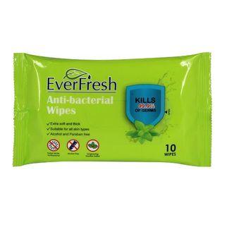 Picture of Everfresh Antibacterial Wet Wipes 10 pk (ctn 144)