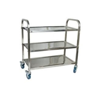 Picture of Serving Trolley 3 Shelf 850 x 450 x 900mm