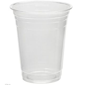Picture of 16oz 500ml Clarity PET Plastic Cold Drink Cup