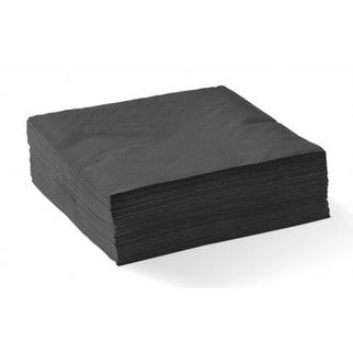 Picture of Cocktail Bionapkin 2-ply Black (ctn 2000)