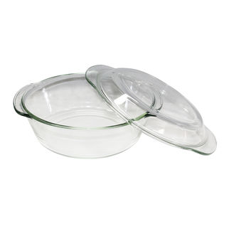 Picture of Glass Casserole Dish with Lid 2 litre