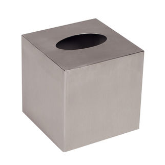 Picture of Cube Tissue Box Stainless Steel Brushed