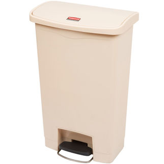 Picture of Rubbermaid Slim Jim 50L Front Step On Beige