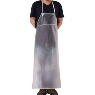 Picture of Disposable Clear Waterproof PVC Apron (pk 100)