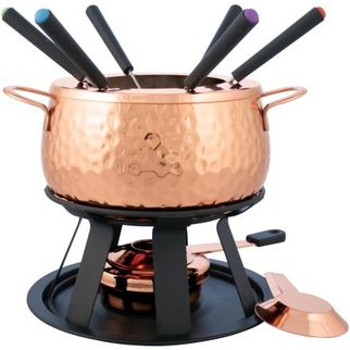 Picture of Swissmar Biel Fondue Set 11 piece Copper