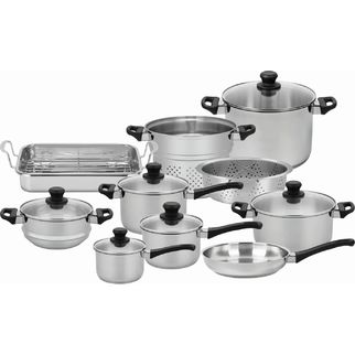 Picture of Scanpan Classic Inox 10 piece Cookware Set