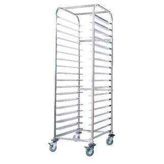 Picture of Gastronorm 2/1 Trolley Mobile