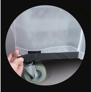 Picture of Chef Inox clear PVC Wash Rack Trolley Cover