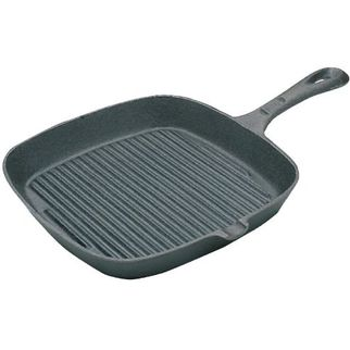 Picture of Vogue Square Cast Iron Ribbet Skillet Pan