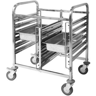 Picture of Double Gastronorm Trolley 6 tier
