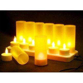 Picture of LED Rechargeable Tealight Box Set