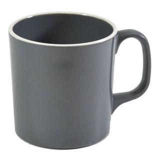 Picture of Jab Vintage Grey/White Rim Enamel Look Mug 300ml (15/8)