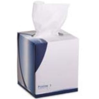 Picture of Pristine Facial Tissue Cube Box 2 ply