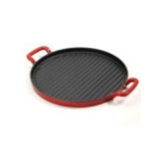Picture of Cast Iron Grill Plate Red