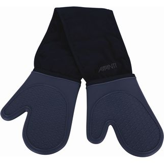 Picture of Avanit Silicone Double Oven Glove Mitt Charcoal