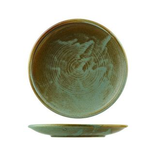 Picture of Nourish Round Coupe Plate Fired Earth 205mm