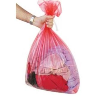 Picture of Soluble Seam Laundry Bag ctn/250 Red