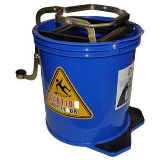 Picture of 16L Wringer Mop Bucket Blue