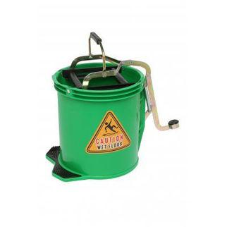 Picture of 16ltr Wringer Mop Bucket Green