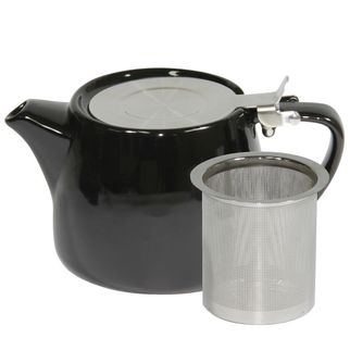 Picture of Brew Onyx Stackable Teapot 600ml with SS Infuser and Lid