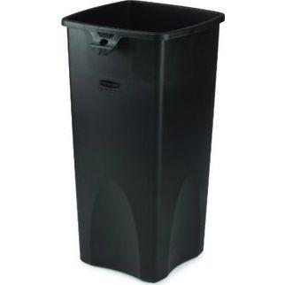 Picture of Rubbermaid Untouchable Square Container Black