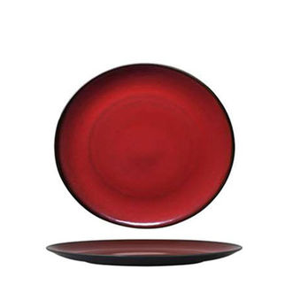 Picture of Luzerne Round Coupe Plate 180mm Crimson