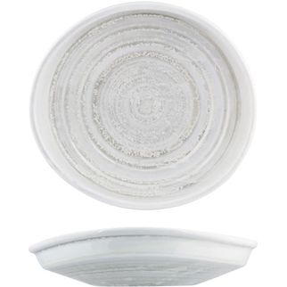 Picture of Moda Porcelain Willow Organic Plate 205x195mm