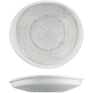 Picture of Moda Porcelain Willow Organic Plate 228x205mm