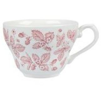 Picture of Churchill Vintage Prints Tea Coffee Cup 198ml Cranberry Bramble