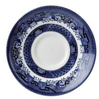 Picture of Churchill Vintage Prints Saucer 198ml Blue Willow