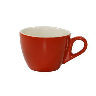 Picture of Brew Saffron and White Flat White Cup 160ml