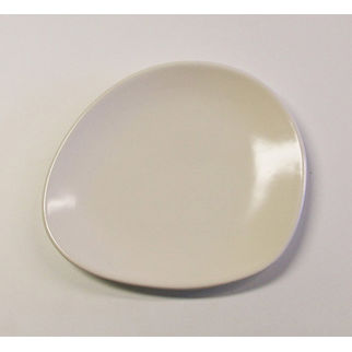 Picture of Santo Alessi Organics Side Plate Satin White 210 x 180mm
