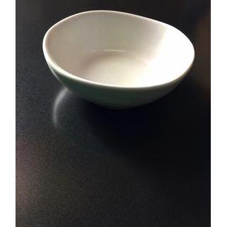 Picture of Santo Alessi Organics Salsa/Dip Bowl Satin White 110 x 100mm