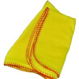 Picture of Unwrapped Yellow Polish Cloth
