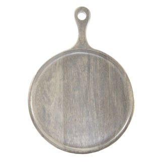Picture of Mango Wood Serving Board Grey with Handle 300mm