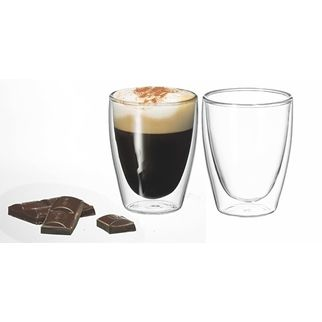 Picture of Caffe Twin Wall Glass 250ml Pack of 2