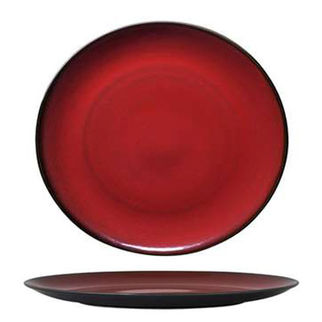 Picture of Luzerne Round Coupe Plate 310mm Crimson