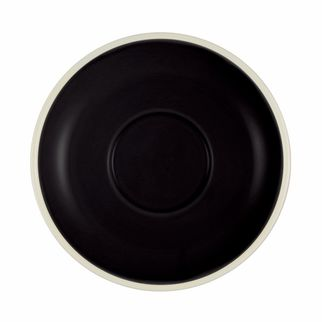 Picture of Brew Onyx and White Espresso Saucer to suit TOM1235
