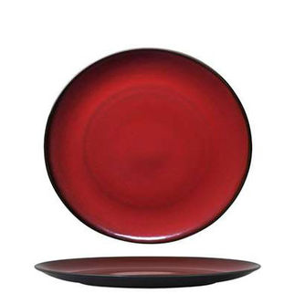 Picture of Luzerne Round Coupe Plate 215mm Crimson